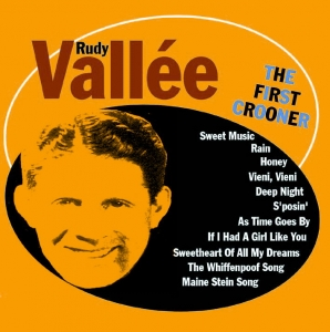 Rudy Vallee, American singer and bandleader, died on 3rd July 1986
